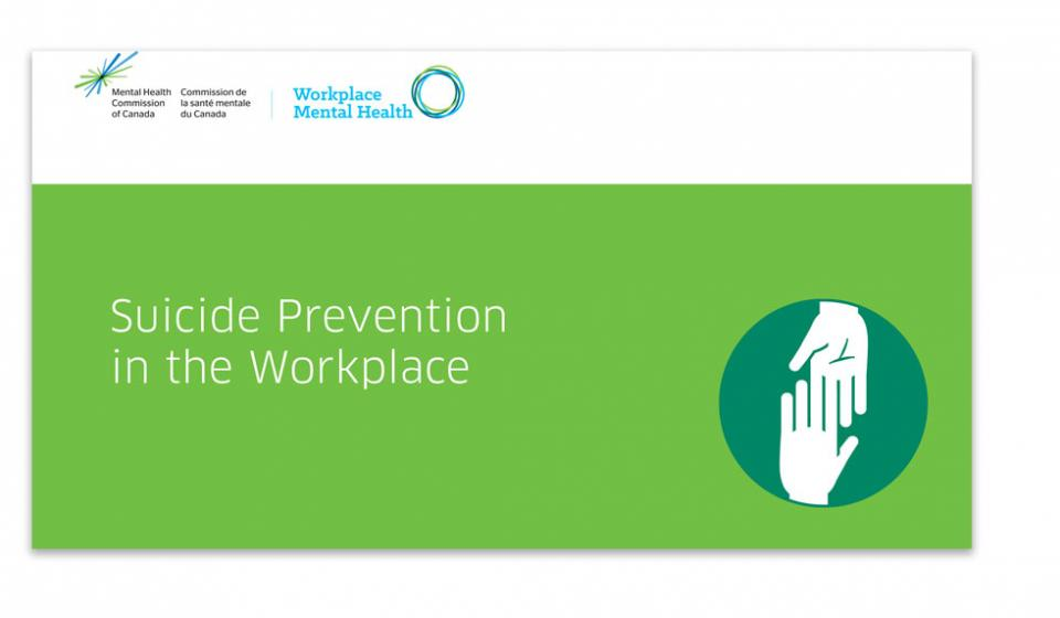 Suicide Prevention in the Workplace Slide 1