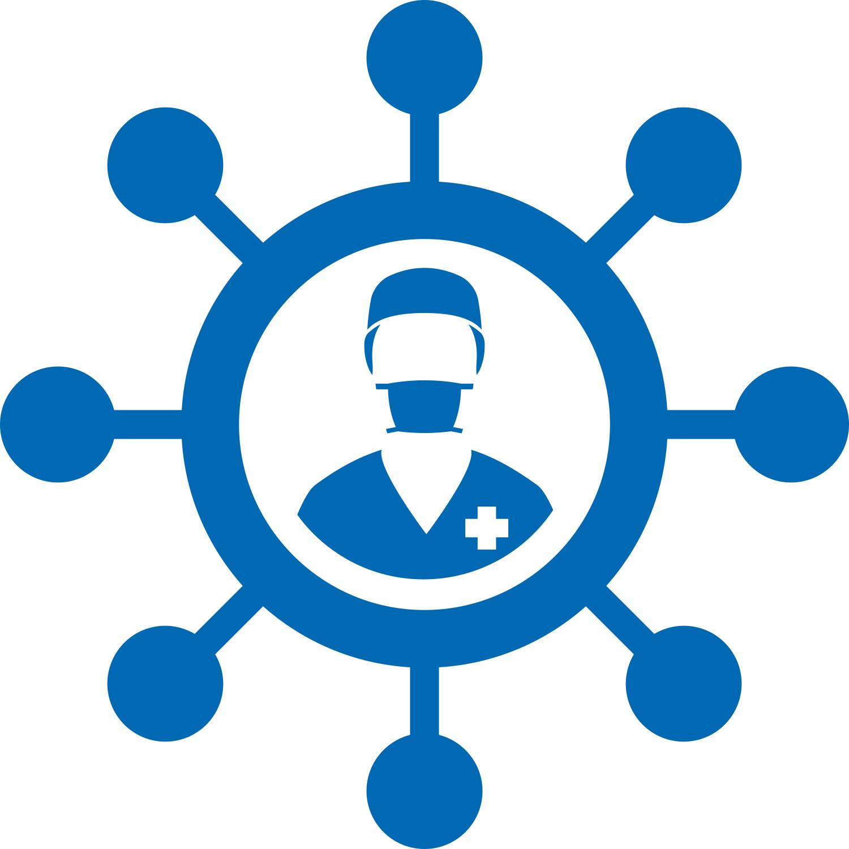 ACCUEIL sur le BLOG d'ISTHMIA dans Isthmia le mag COVID_19_Icon%2BHCP-dark_blue
